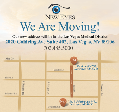 New Eyes Moves to Las Vegas Medical District